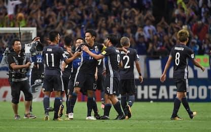 Mondiali Russia 2018, Giappone qualificato