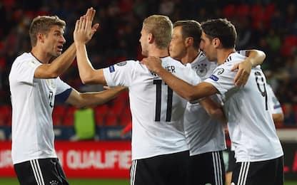 Qualificazioni Mondiali: ok Inghilterra e Germania