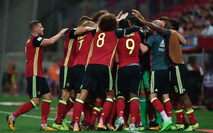 Qualificazioni, Belgio va in Russia. Pari Francia
