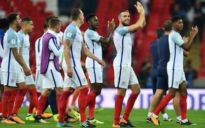 Qualificazioni, ok l'Inghilterra. Super Germania