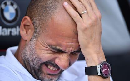 """Guardiola: """"Infortunio Mendy peggio del previsto"""""""