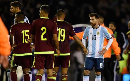 Argentina-Venezuela 1-1: Icardi non basta