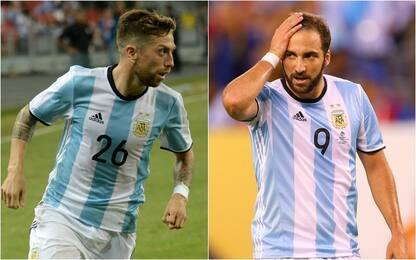 Argentina, convocati Papu e Icardi: out Higuain