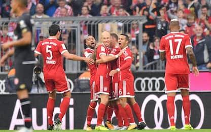 Bundesliga, poker del Bayern al Mainz. Schalke ok