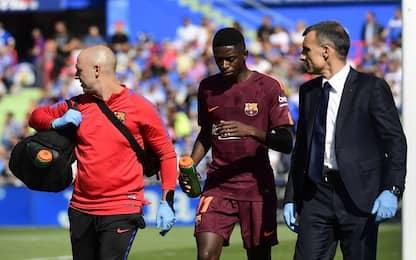 Barcellona, intervento riuscito per Dembélé