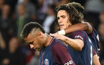 """Sport: """"Neymar ha chiesto la cessione di Cavani"""""""