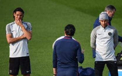 """Emery: """"Rigori? Cavani e Neymar sanno cosa fare"""""""