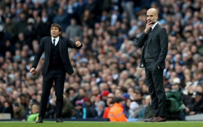 """Conte: """"Rispetto per Guardiola, è tra i migliori"""""""
