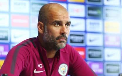 """City, Guardiola: """"Spero che Aguero torni presto"""""""