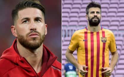 Ramos risponde a Piqué: la foto su Instagram