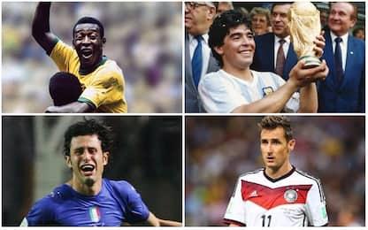 Da Pelé a Grosso, i 20 più decisivi ai Mondiali