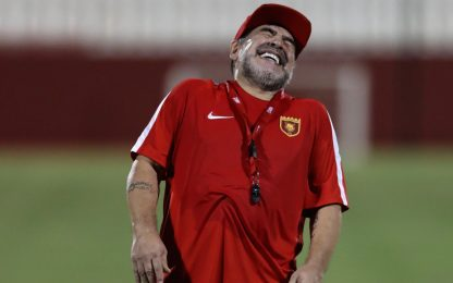 "Maradona sfida Mayweather: ""Ti ammazzo!"""