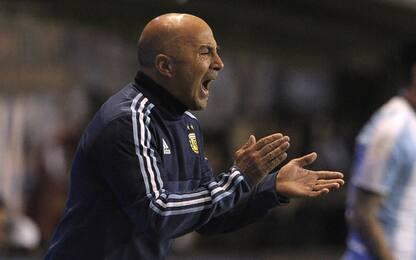 "Sampaoli è sicuro: ""L'Argentina andrà ai Mondiali"""