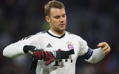 Bayern, Neuer: stop più lungo del previsto