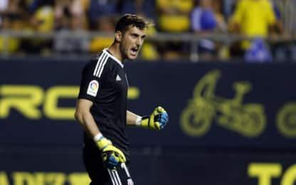 """Spagna, la """"tripletta"""" di Herrera: para tre rigori"""