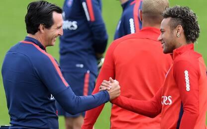 """Emery: """"Aiuteremo Ney a vincere il Pallone d'Oro"""""""