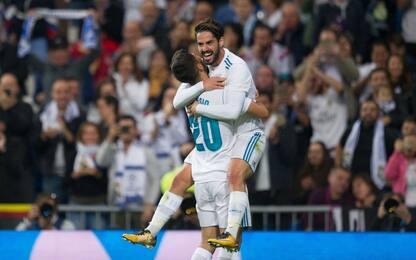 Liga: Real a valanga, vince l'Atletico
