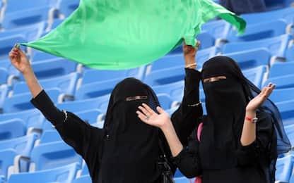 Arabia Saudita, dal 2018 sì alle donne allo stadio