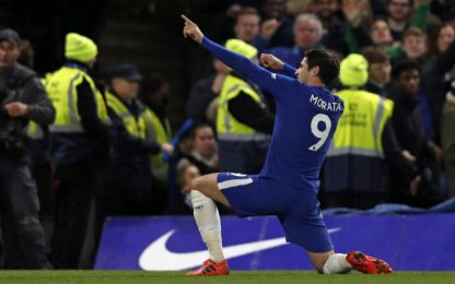 Conte batte Mourinho 1-0: decide Morata di testa