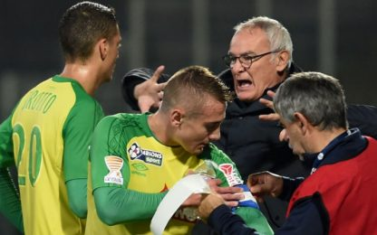 Ranieri ritrova il terzo posto, 2-1 al Tolosa