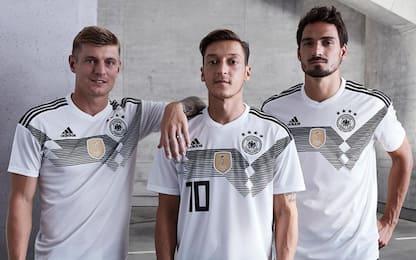 Adidas, svelate le maglie per il Mondiale