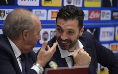 """Buffon: """"Svezia? Noi abbiamo un'altra storia"""""""