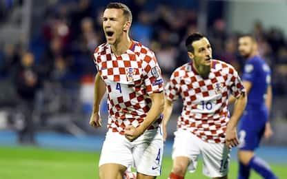 Croazia, un piede in Russia: Grecia travolta 4-1