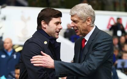 """Wenger a Pochettino: """"Ti dico io come si vince..."""""""