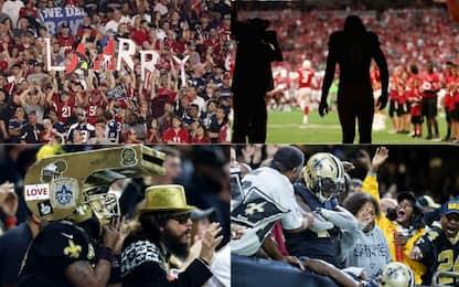 NFL: Larry & Saints, la Storia vi guarda