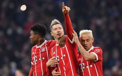 Il Bayern allunga in vetta, tonfo del Lipsia