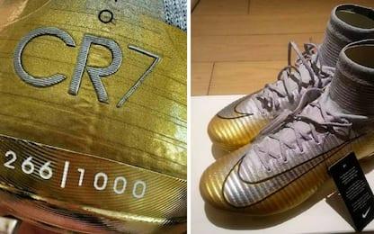 Spoiler Nike, a Ronaldo il Pallone d'Oro 2017