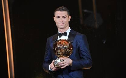 Pallone d'Oro: trionfa CR7, 4° Buffon