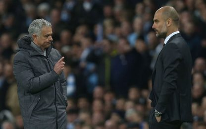 United-City, nuove 'scintille' tra Pep e Mou