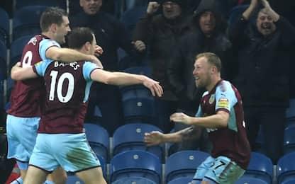 Il Burnley vola, piegato lo Stoke: è 4° in Premier