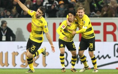 Bundesliga, il Borussia si sblocca: Mainz ko 2-0