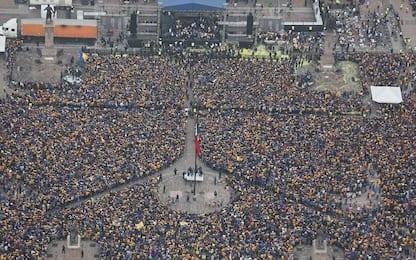 Tigres campione in Messico: 500mila in piazza