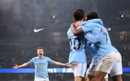 Guardiola e la fase difensiva del Manchester City