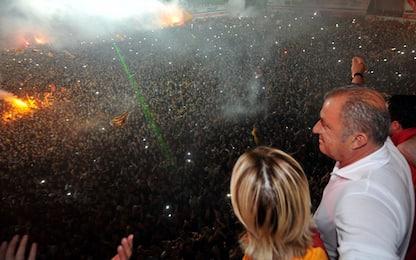 Galatasaray, torna l'Imperatore: panchina a Terim