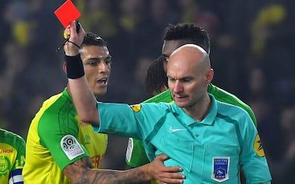 Ligue 1, Chapron sospeso per tre mesi