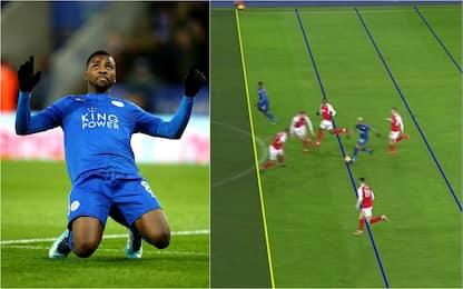 Iheanacho gol, ecco la prima rete Var inglese