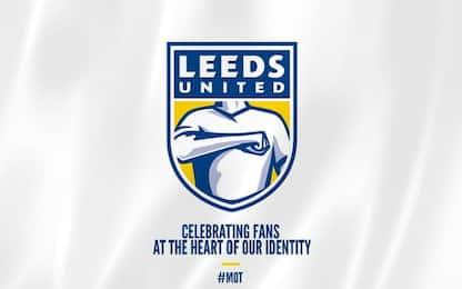 Leeds, il nuovo stemma scatena l'ironia del web