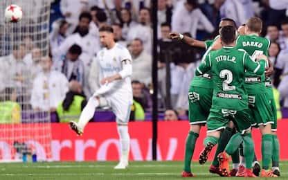 Tonfo Real, Leganes in semifinale di Coppa del Re