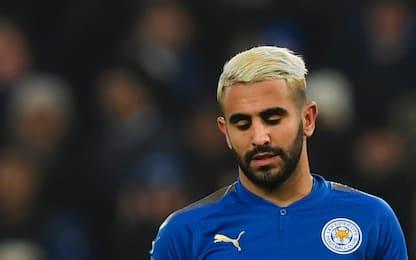 Leicester, Mahrez non si allena. Ecco perché...