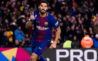 Sempre Suarez, anche in Coppa: Barça-Valencia 1-0