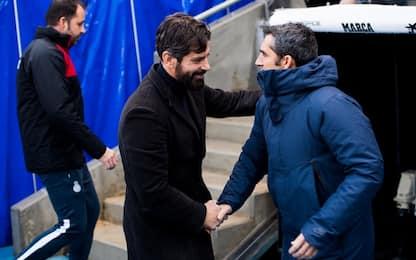 Piqué riacciuffa Moreno: Espanyol-Barcellona 1-1