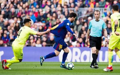 Il Getafe frena il Barcellona: è 0-0 al Camp Nou