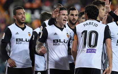 Valencia-Levante 3-1. Il derby è di Marcelino
