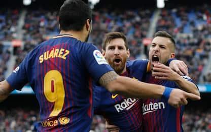 Messi, Suarez, Alba: video virale come barzelletta