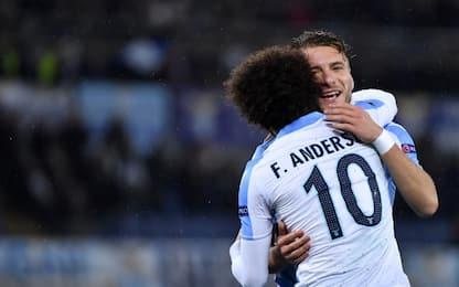 Immobile trascina Lazio agli ottavi: Steaua ko 5-1