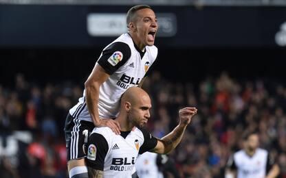 Zaza-gol, il Valencia vince 2-0 contro il Betis